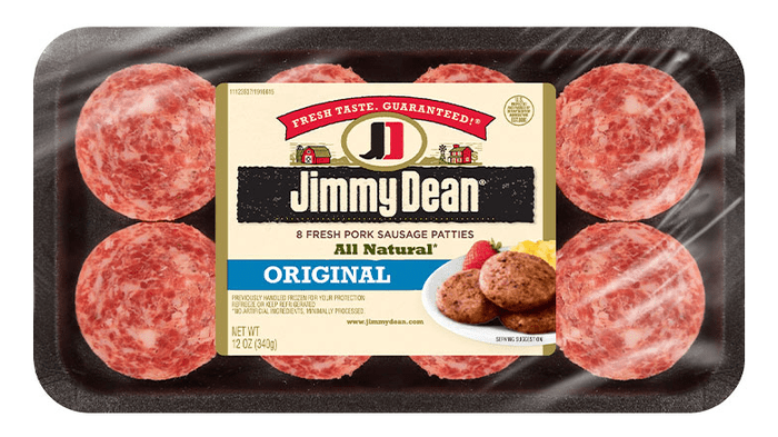 Jimmy Dean Premium All Natural Pork Sausage Patties