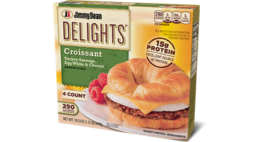 Delights Turkey Sausage, Egg White & Cheese Croissant