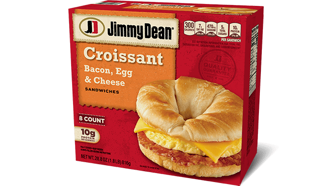Jimmy Dean Bacon, Egg & Cheese Croissant Sandwiches