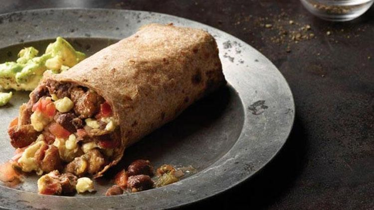 Easy Sausage and Egg Breakfast Burrito