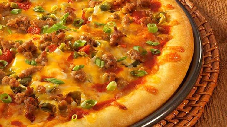 End Zone Sausage Pizza