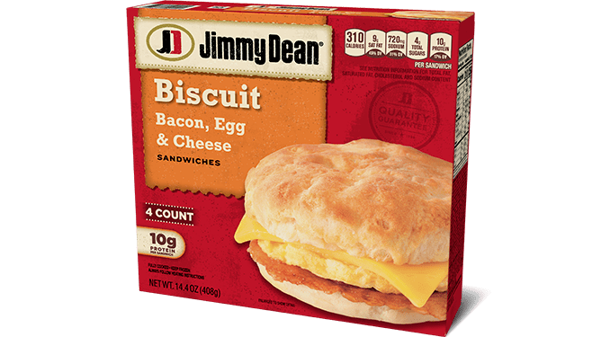 Bacon, Egg & Cheese Biscuit Sandwiches