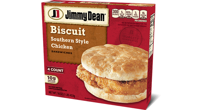 Southern Style Chicken Biscuit Sandwiches