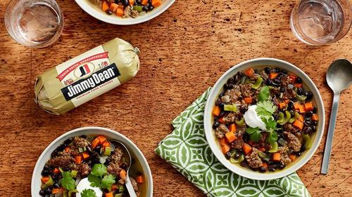 Sausage and Black Bean Soup